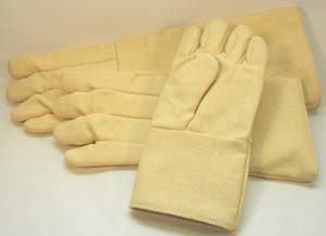 Photo of standard gloves